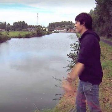 Magneetvissen plaats vinden