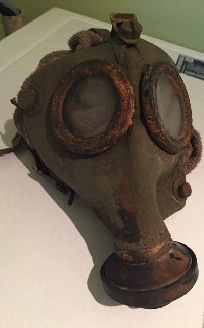 gasmasker vondst magneetvissen