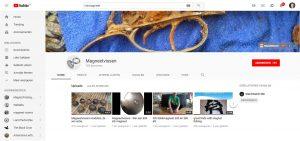 Magneetvissen Youtube, Magneetvissen Youtube
