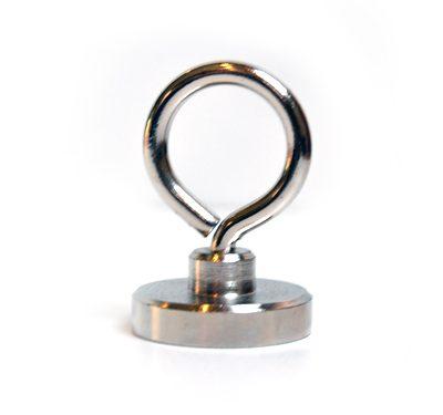 kinder vismagneet, kindervismagneet, magneet met 55 kg trekkracht, magneetvissen, magneet, metaaldetectie, Neodymium magneet, 55 KG trekkracht, vismagneet