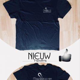 T-shirt vismagneet, T-shirt magneetvissen,
