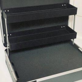 Vismagneet koffer, Magneetvissen koffer
