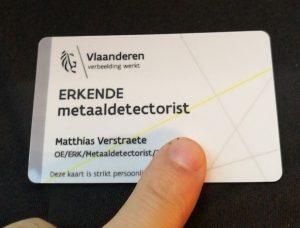 vergunning magneetvissen België