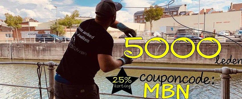 25% korting met de code MBN